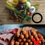 体に良い食事・悪い食事
