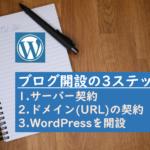 1時間で完了!WordPressでブログ♪の始め方【初心者でも簡単】